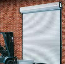 Commercial Garage Door For A Firehouse Glass Garage Doors Rolling Steel Door  ...